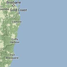 Australian rail maps NSW Trainlink - Casino to Brisbane via Gold Coast - Bus Timetable and map