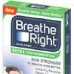 Two Free Samples of Breathe Right Extra Clear