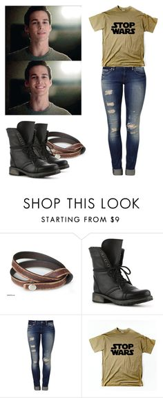 """""""Kai Parker - tvd / the vampire diaries"""" by shadyannon ❤ liked on Polyvore featuring NOVICA, Steve Madden and Mavi"""