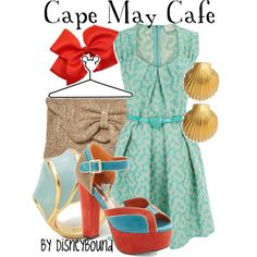"""Cape May Cafe"" by lalakay on Polyvore #disney"