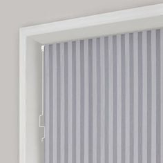 Grey Stripe Blackout Cordless Roller Blind | Dunelm