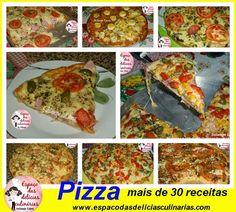 Receitas de pizzas - Espaço das delícias culinárias