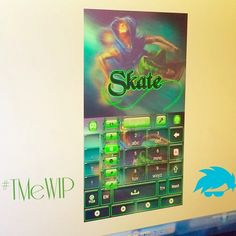Check out TMe's skater streak in this #WIP we're cooking up! B/c your #keyboards have to be as cool as you;)