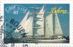 Briefmarke-Europa-Westeuropa-Frankreich-0.15-1999-Iskra