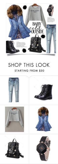 Baby it's cold outside by mahafromkailash on Polyvore featuring мода