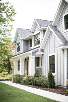 21 Best Gray House White Trim Images In 2018 Exterior House Colors