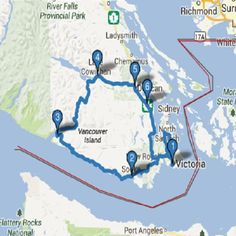 Pacific Marine Circle Route - Oh Canada Victoria Island Canada, Victoria Vancouver Island, North Vancouver, Island 2, Island Life, Port Angeles, Canadian Travel, Surf Trip, Travel Usa