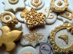 Biscoitos Decorados Baby Girl