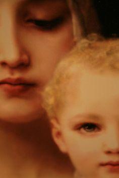 Virgin Mary and Baby Jesus.so beautiful ♥ Divine Mother, Blessed Mother Mary, Blessed Virgin Mary, Religion Catolica, Catholic Religion, Catholic Art, Madonna Art, Madonna And Child, Religious Paintings