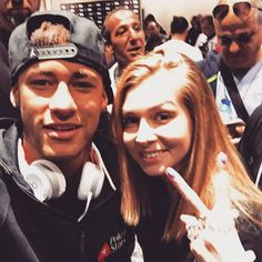 Ney with fan at pokerstars event in Barcelona 25/08/15 ❤