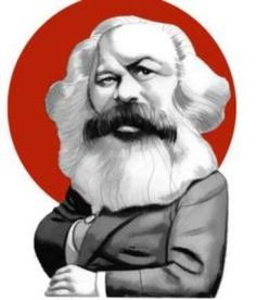 """Illustratios for """"The Communist Manifesto"""" Karl Marx and Friedrich EngelsEd. Karl Marx, Sociology Theory, Sculpture Museum, Cultura General, Religious Studies, Celebrity Caricatures, Illustration Art, History, Fictional Characters"""