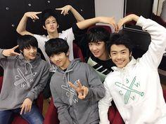 Jeno, Mark, Jisung, Donghyuk & Jaemin