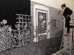 Charlotte Mann | Walls - life size murals