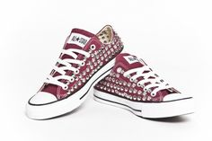 Diy studded converse shoes