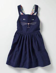 Animal Dungaree Dress