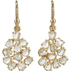Irene Neuwirth Diamond Mixed Shape Earrings at Barneys.com