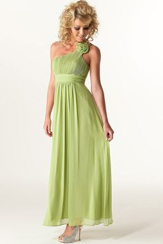 Image Detail For Rose Lime Green Bridesmaid Dress