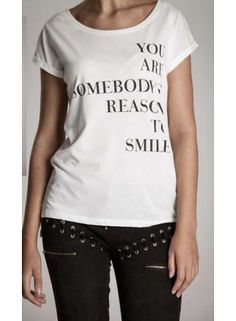 Cotton Candy top 'You are somebody's reason to smile'