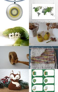 Moss World by Semi Vintage on Etsy--Pinned with TreasuryPin.com