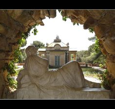 """The Labyrinth"" ... eighteenth century Neoclassical Garden"