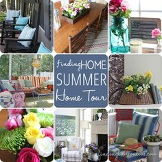 Decorating Ideas: Summer Home Tour from Finding Home