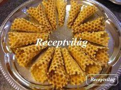 Édes tölcsér - RECEPTVILÁG - Receptes oldal - receptek képekkel