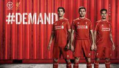 New Liverpool 14-15 (2014-15) Home, Away + Third Kits - Footy Headlines