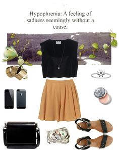 """Sadness Without a Cause"" by isabellagrace3 ❤ liked on Polyvore"
