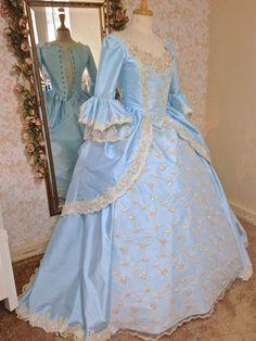 New! Upscale Lace Back Marie Antoinette Fantasy Custom Colors