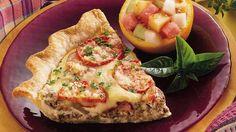 Pepperoni Pizza Quiche