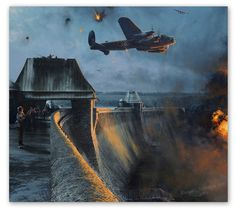 The Dambusters - Last Moments of the Möhne Dam - by Robert Taylor The largest dam in Europe, the fortress-like walls of the Möhne held back...
