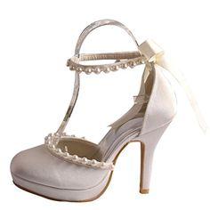 iBaste Damen High Heels Pumps Satin Stilettoabsatz Brautschuhe Hochzeitschuhe Spitze Schuhe Abendschuhe Party Damenschuhe iBaste http://www.amazon.de/dp/B00WWL4HEU/ref=cm_sw_r_pi_dp_GdsDwb0EB0SS5