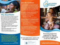 What is BabyWASH?BabyWASH integrates water, sanitation and hygiene (WASH) interventions into maternal, newborn and child health (MNCH), early childhood development (ECD) and nutrition World Vision International, Global Handwashing Day, Water And Sanitation, Social Well Being, Knowledge Management, One 1, A Day In Life, Kids Health, Early Childhood