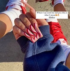 Acryl Nails, Beautiful Nail Designs, Birthday Nails, Fingerless Gloves, Arm Warmers, Red, Fingerless Mitts, Fingerless Mittens, Birthday Nail Designs