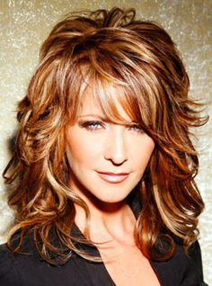 Bangs can be worn straight and full, wispy, or swept to one side. The simple act of adding forehead fringe can create an instantaneous transformation from dull to awe-inspiring. The beauty of the bang is that you can change the look if you don't like the result. Getting the right look with hairstyles with bangs is all about testing, getting a good hair stylist, using common sense, and, we recommend using the service below to test the style before the scissors are taken to your hair!