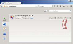 delete addon from Firefox