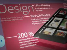 UI Design by Stuart Bayston