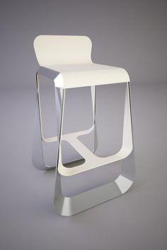 MOCO bar stool by Svilen Gamolov, via Behance