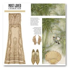 """""""Daisy Buchanan in """"The Great Gatsby"""""""" by dezaval ❤ liked on Polyvore featuring Calypso St. Barth, Loriblu and MostLovedCharacter"""