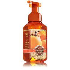 Sweet Cinnamon Pumpkin Gentle Foaming Hand Soap - Harvest pumpkin, vanilla cream & cinnamon invite you to enjoy fall comforts