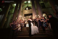 Atrium at the Curtis Center Wedding | Sara + Luke » Jennifer Childress Photography