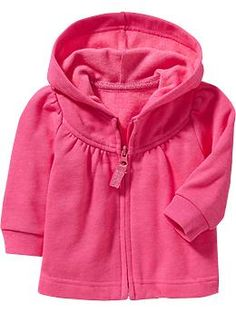 Fleece Zip-Front Hoodies for Baby
