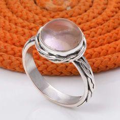 925 STERLING SILVER RING AMETRINE EXCLUSIVE JEWELLERY 5.67g DJR5064 #Handmade #Ring
