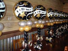 #hollywood #40th #canberra #BalloonBrilliance Balloon Columns, Balloon Garland, Balloon Arch, Balloon Decorations, Air Balloon, Hollywood Birthday Parties, Hollywood Theme, 60th Birthday Party, Birthday Ideas