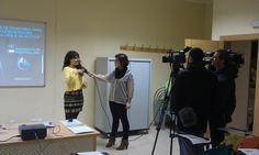 Imás TV y Radio Televisión de Castilla la Mancha se hacen eco del inicio del Programa de coaching para emprendedores en Puertollano.