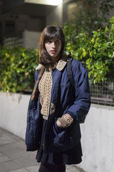 Tel Aviv street style, gorgeous woman