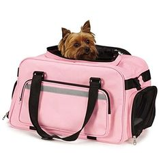 Special Offers - Casual Canine ZA5260 75 On The Go Carry On Bag or Pets Pink - In stock & Free Shipping. You can save more money! Check It (April 27 2016 at 12:12AM) >> http://dogcollarusa.net/casual-canine-za5260-75-on-the-go-carry-on-bag-or-pets-pink/