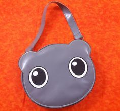 Kawaii Cute 3D Pet Handbag Gray Satchel Purse Bag Funny Girls Cosplay Anime #Unbranded #Satchel