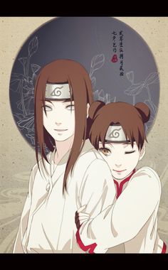 See what I mean?? Told ya they're the cutest!! Huhuhuhu. I really miss Neji