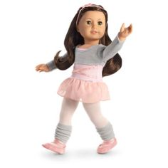 Ballet Class Outfit for 18-inch Dolls   Truly Me   American Girl
